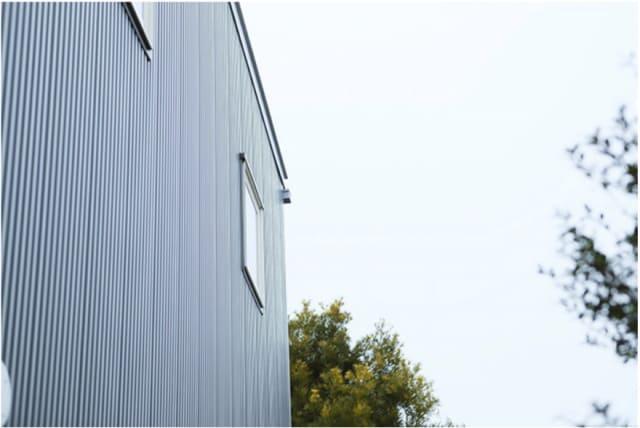 無印良品の家のガルバリウム鋼板