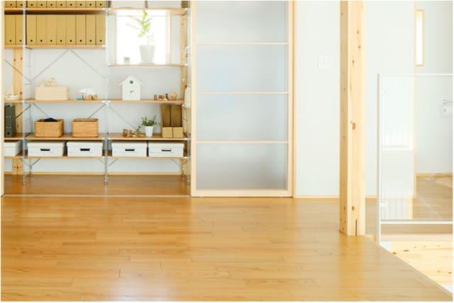 無印良品の家の床