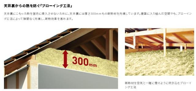 ウィザースホームの屋根仕様